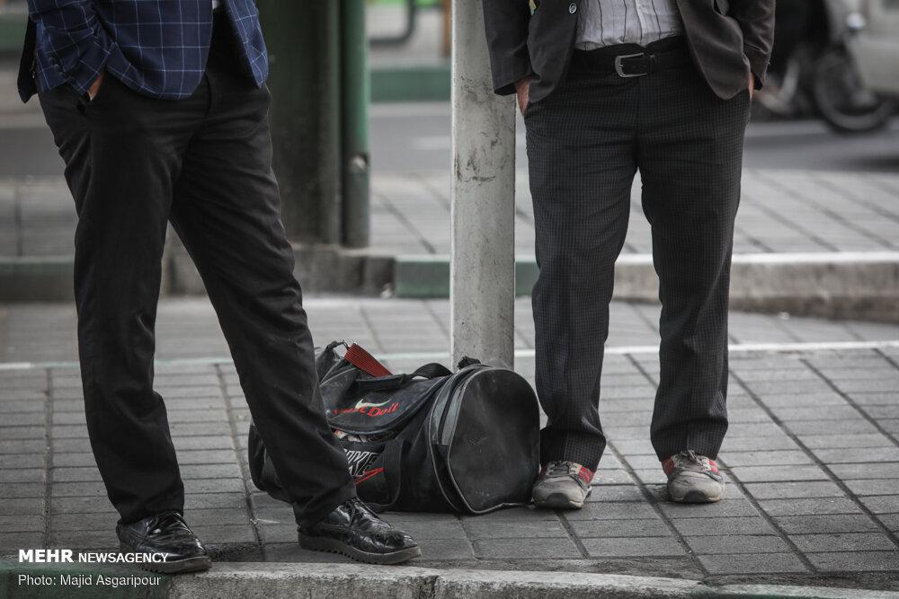 جمعیت شاغلین در بهار امسال ۱.۵ میلیون نفر کاهش یافت